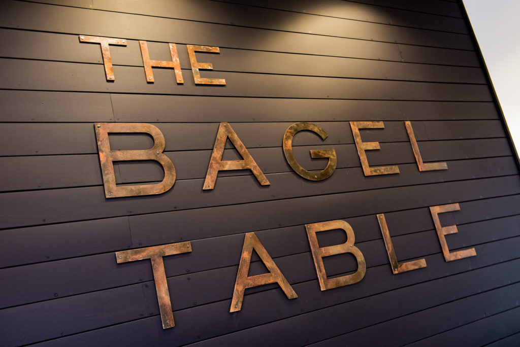 The Bagel Table